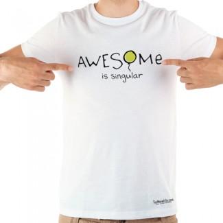 Awesome is Singular