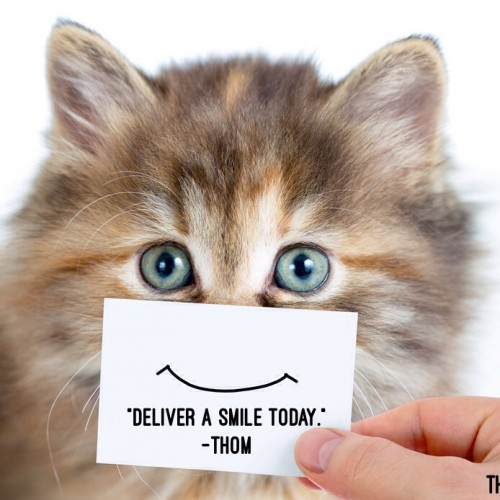 "Motivational Monday – ""Deliver a Smile Today"""