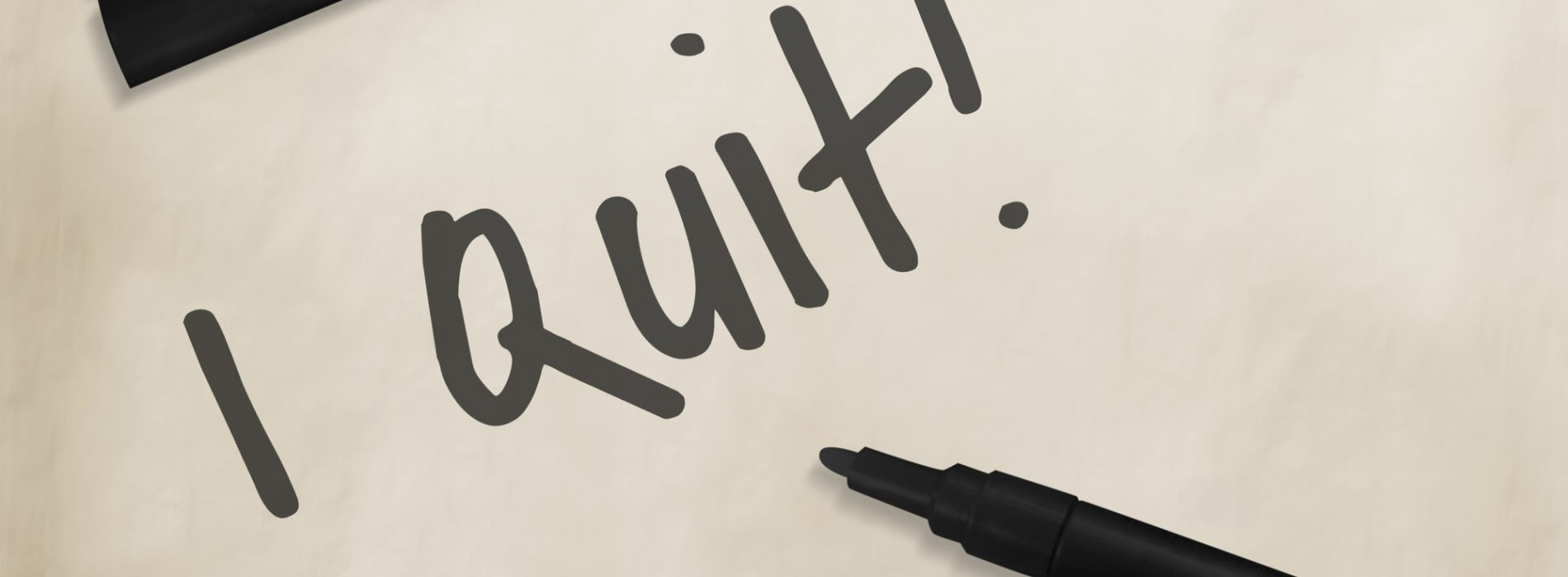 Divorce & the Art of Quitting