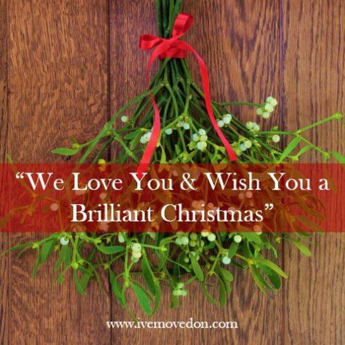 Merry Christmas, With Love IMO