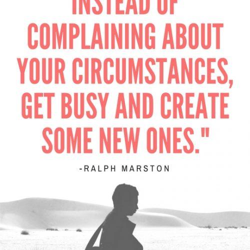 Create New Circumstances