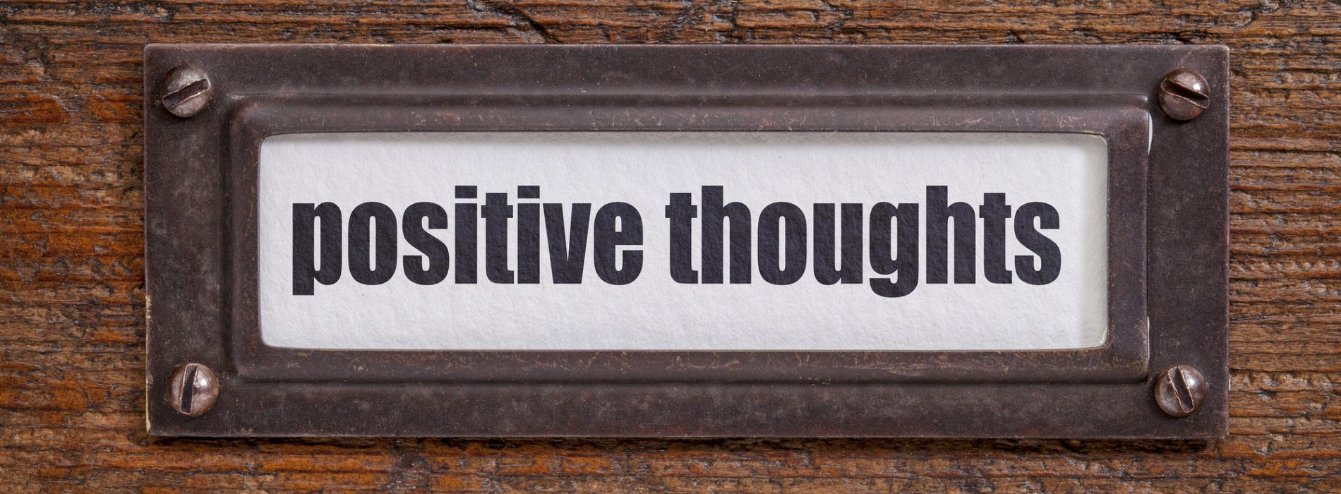 Staying Positive When Living in the Negative