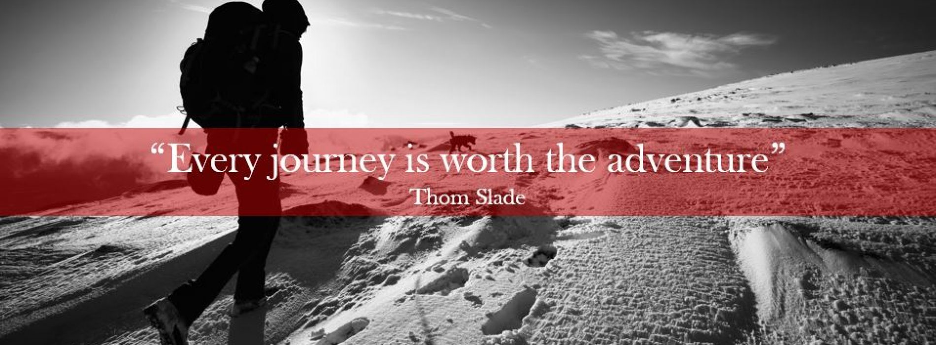"""Every journey is worth the adventure"" – Thomism No. 131"